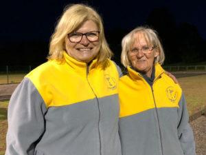 Jutta Böhmer und Rositta Mühlenbeck