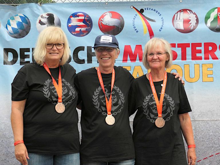 DM • Frauen-Triplette 2021 am 25./26. September in Mannheim